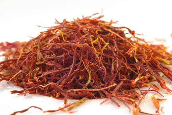 Harvested Saffron.