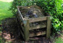 Garden Compost Making Process.