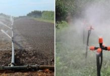Micro Irrigation.