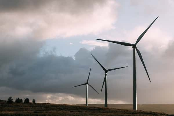 Wind power.