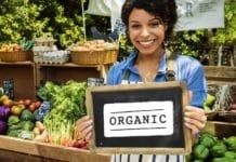 Organic Vegetbale Farming.