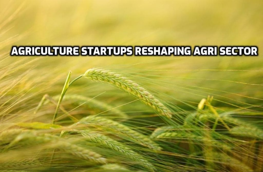 List of Agricultural Startups in India.