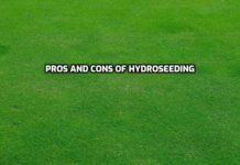 Advantages and Disadvantages of Hydroseeding