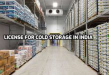 Cold Storage License.